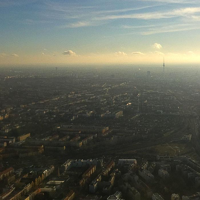 Gezicht op Berlijn